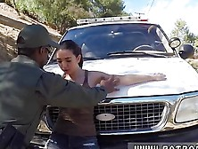 Police Abuse First Time Latina Babe Fucked By The Law