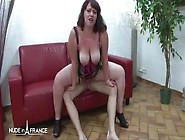 Horny Big Titted Chubby Milf Ineesa And Her Friend Enjoying Ffm