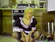 Vintage Naughty Maid Is Horny