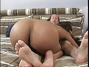 Wet Latina Pussy Filled With A Big White Dick