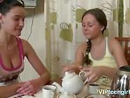 Alissa Makes Massaging Her Friend First Time