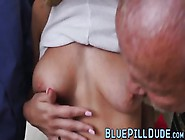 Hardcore Cowgirl Sex For This Busty Natural Tits Teen Slut