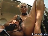 Pussy Squirting Fist Solo