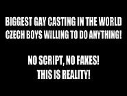 Bashful Tomas From Czech Gay Casting Man Hub ™