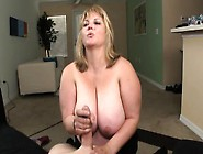 Fat Blonde Slut Jessica Smothers A Stiff Cock With Her Hot Mouth