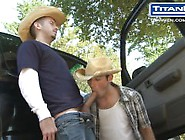 Cowboys Piss And Suck Outside Of Truck