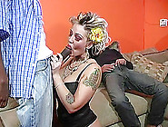 Wild Wife Fucking A Black Dude While Cuckold Husband Watches