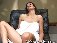 Whore Manhandle - Carol Ann