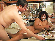 Ebony Milf Gives A Yummy Blowjob And Gets Nailed Doggystyle