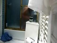 Hidden Cam On In The Bathroom