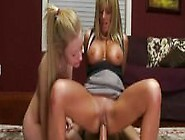 Teen And Her Hot Stepmom Shares On Cock