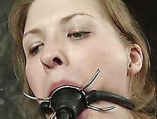 Bdsm-Loving Cutie Melody Gets Nipples And Pussy Toyed