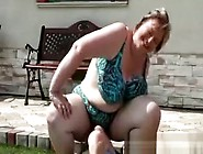 Mature Fat Bbw Plumper Facesits Outside