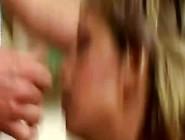 Blonde Tiener(18+) Moet Nablijven Om Te Pijpen