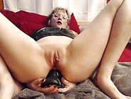 Anal Riding Monster Bad Dragon Dildo In My Bedroom