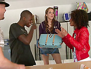 Interracial Anal Action With Bimbos Misty Stone And Kiera King