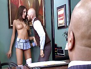 Hot Woman Is Getting Penetrated In The Office By Her Teacher