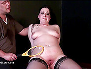 Pegged Bbw Slave Emmas Humiliating Punishment And Curvy Painslut