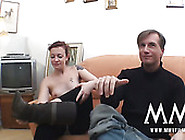 Titless Filthy Brunette Enjoys Hot Mish Pose Fuck With Her Stud