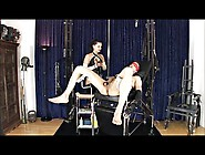 Mistress Fists Her Slave And Fucks Him With A Huge Strapon