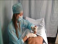 Nurse In Scrubs Hj