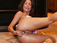 Sexy Candice Anal Dildo Solo Masturbation Orgasms