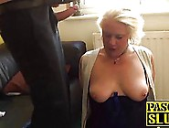 Fat,  Mature Blonde,  Carol Is Eager To Get Some Love From The Bac