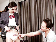 Nerdy Shemale From Asia Gets An Erection In Her Kinky Session