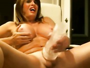 Milg Amateur Ts Fucks Her Toy And Cums On Cam