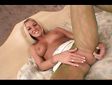 Blonde Cutie With High Heels And Nylons - Fitzgerald Media