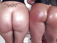 Phat Booty Show Off By 2 Hot Latinas