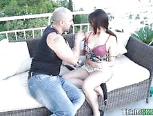 Oye Loca Stunning Spanish Teen Drilled Outside