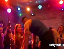 Sexy Cuties Get Absolutely Crazy And Naked At Hardcore Party