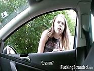 Flirty Hitchhiker Marina Visconti Fucked