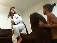 Girl Teen asian trampling fetish has