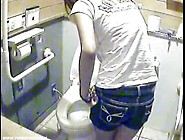 Toilet Girls Exposed On Camera Spy