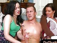 Teen Slut Jenna Ross And Busty Milf Veronica Avluv Ffm 3Some