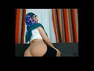 Very Beautiful Hijab Girl Doing A Sensuous Act And Exposing Her