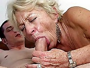 Lewd Granny Malya Gives A Blowjob And Gets Fucked In Cowgirl Pos