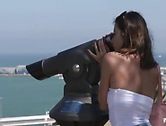 Bitches Abroad - Italian Tourist Enjoys Foreign Cock And Cum