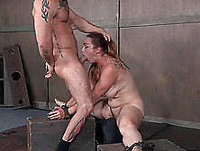 Bella Rossi Tortured By A Couple Of Erected Love Tools