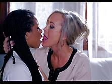 Brandi Love And Kira Noir Lesbian Adoration