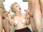 Mature Spit Roasted In Living Room