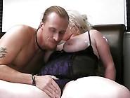 Sensuous Giant Blonde Gets His Pisser