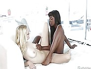 Alli Rae And Ana Foxxx Are Passionately Making Love With Each Ot