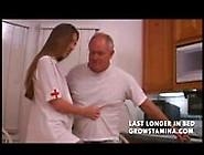 Teen Nurse Fucks Grandpa