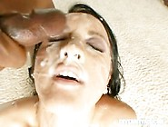 21 Facials For Bukkake Babe Deena - Cover My Face