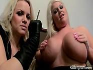 Frankie Babe And Sindy Strutt In A Fesitsh Style Lesbian Scene