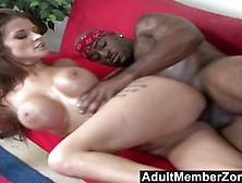 Busty Joslyn James Loves Big Black Cock