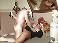 Nasty Blonde Bbw Milf Gets A Deep Fucking On Plumperd. Com